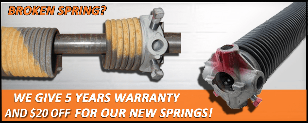 garage door spring replacement castle pines colorado