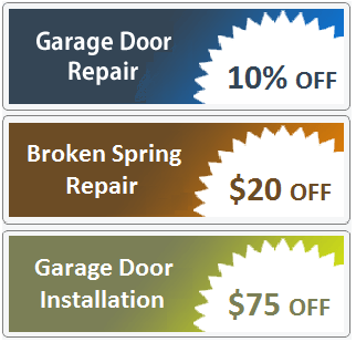 special offers -garage door repair castle pines co
